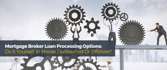 Mortgage Broker Loan Processing Services Cover