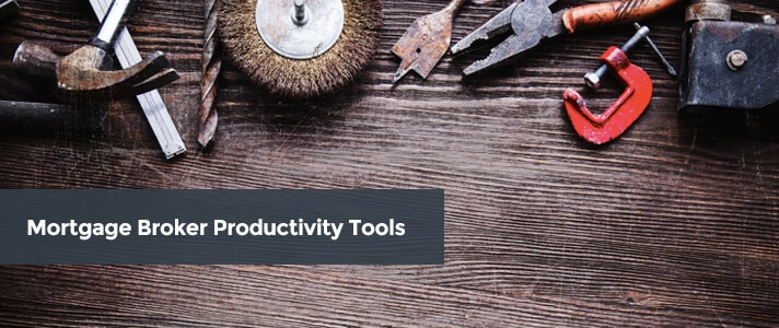 Mortgage Broker Productivity Tools Cover