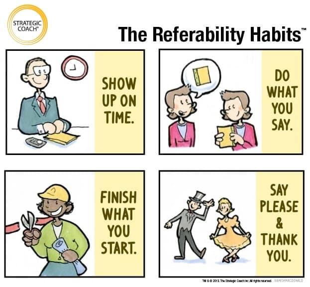 4 Referability Habits