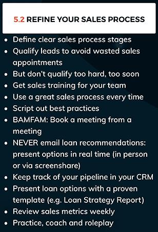 mortgage broker sales process tips