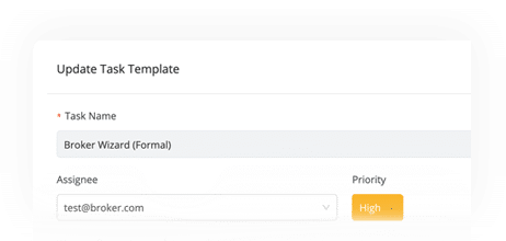 Email Task Templates